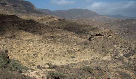 wadi sayq cliffs