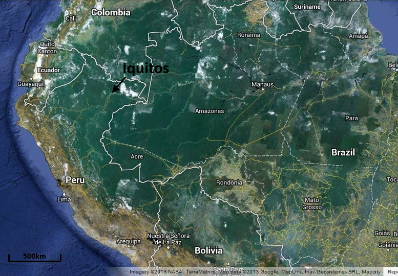 Iquitos The Capital City of Amazonia Lawrence Ball